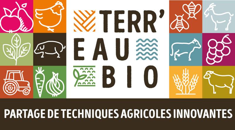 terr'eau bio occitanie justine carré graphisme rencontres agriculture biologique partage techniques agricoles innovantes frab midi-pyrénées sud et bio languedoc roussillon